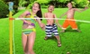 Toy Limbo Water Sprinkler Game: Toy Limbo Water Sprinkler Game