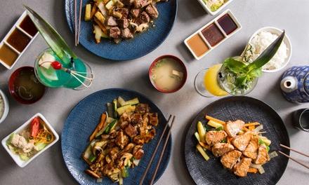 6Course Teppanyaki Experience: 2 $59, 4 $115 or 6 Ppl $169 at Kamikaze Teppanyaki Coomera Up to $349.35 Value