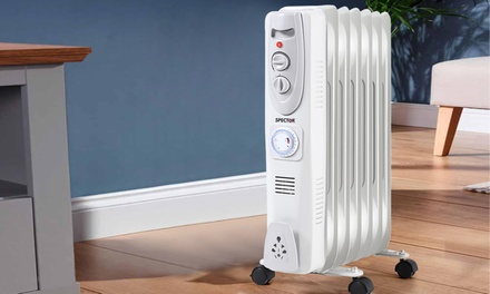 Spector Electric Portable Oil Heater: Style C or Style D Don't Pay up to $199.99