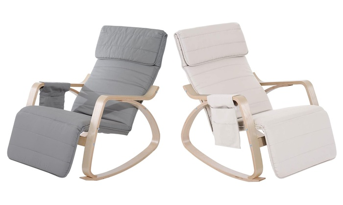 HomCom Rocking Lounge Chair