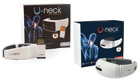 Massaggiatori per il collo U-Neck Lite o U-Neck Portable Natural Logistics per alleviare i dolori cervicali