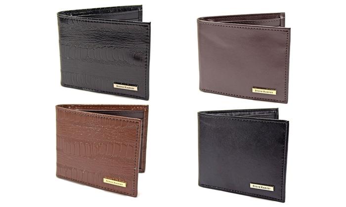 f4b7be80b20f Steve Harvey Men's Bifold Wallet | Groupon Goods