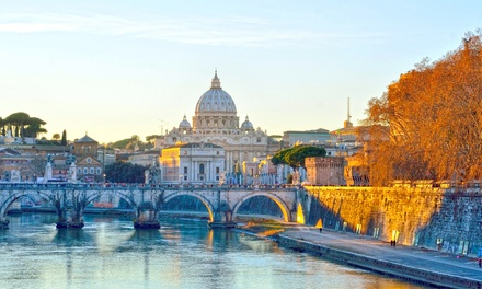 ✈ Rome and Venice: 4 or 6 Nights at a Choice of Hotels with Train Transfers and Flights*