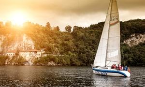 Polaris Yacht: Escursione in barca a vela sul Lago Maggiore con aperitivo a bordo per 2 persone con Polaris Yacht (sconto 50%)