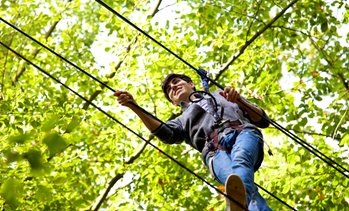 Up to 46% Off Ropes Course at Palisades Climb Adventure
