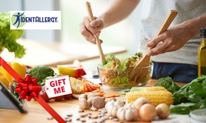 IdentAllergy: Food Intolerance Test Kit with 300 ($19), 600 ($29) or 750 Items Tested ($35) from IdentAllergy (Up to $89 Value)