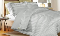 Groupon.com deals on Kathy Ireland Reversible Down-Alternative Comforter Set 3-Pc