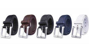 Men's Classic Leather Dress Belt