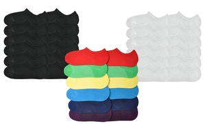 Angelina Unisex No-Show Cotton-Blend Socks (12 Pairs)