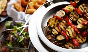 Morocco's Restaurant: Appetizers and Bubbly, or Moroccan Cuisine for Takeout at Morocco's Restaurant (Up to 46% Off)