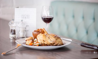 image for Three-Course Meal for Two or Four at Hale Wine Bar & Grill (Up to 37% Off)
