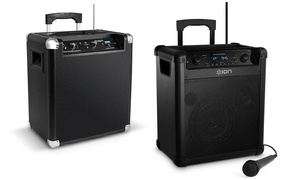 Ion Block Rocker Bluetooth Portable Speakers Systems (Refurbished)