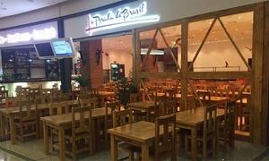 La Posada de Brasil: Menú para 2 o 4 con buffet libre de carnes, salsas y acompañamientos, postre y café desde 25,99 € en La Posada de Brasil