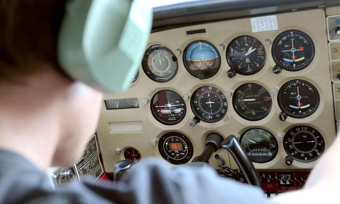 Avel Flight School - Schaumburg: Introductory Flight Lesson at Avel Flight School (Up to 56% Off)