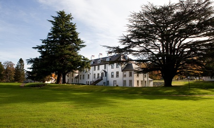 groupon.co.uk - Perthshire: Double Room for Two with Breakfast, Bottle of Red Wine, Dinner and Spa Access at 4* Moness Resort