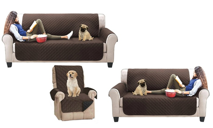 Quilted Pet Furniture Cover Groupon