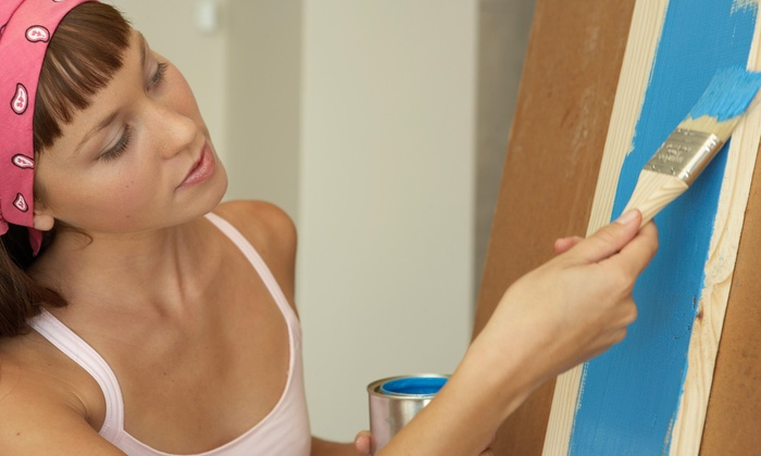 Posh N' Paint - Anchorage: $35 for 3-Hour Private Art Instruction Session from Posh N' Paint ($60 Value)