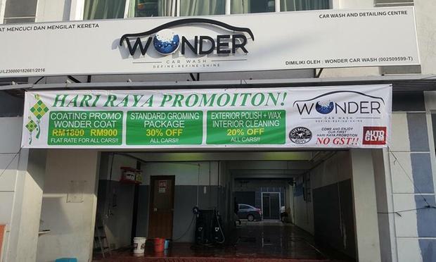 wonder car wash klang valley kl groupon. Black Bedroom Furniture Sets. Home Design Ideas