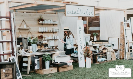 Admission for One, Two, or Four to Vintage Market Days on September 20–22, 2019 (Up to 60% Off)