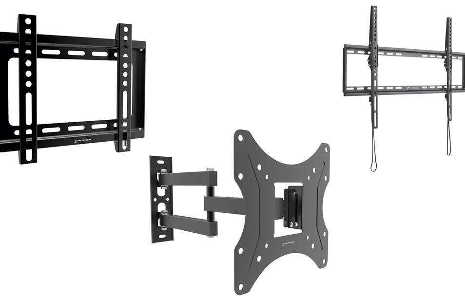 GForce Fixed, Tilt, and Full Motion TV Wall Mounts