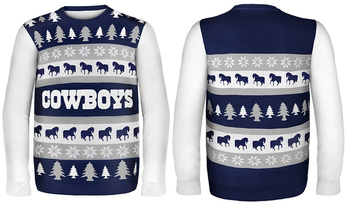 b3bf96d2492a Unisex NFL Ugly Sweaters (Dallas Cowboys)