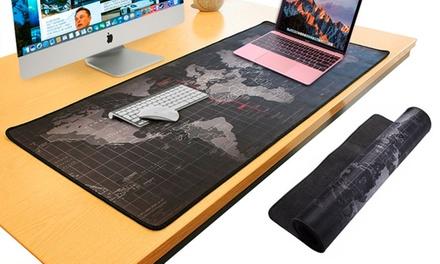 Alfombrilla para ratón con mapa del mundo