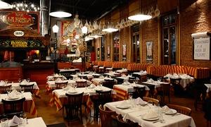 La Robla: Desde $399 por cena española + copa de vino para dos o cuatro en La Robla