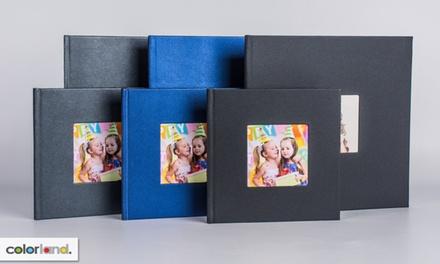 1 o 2 fotolibros personalizables de tamaño y número de páginas a elegir con Colorland (hasta 88% de descuento)