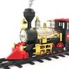 Mota Holiday Classic Train Set with Real Smoke, Lights, and Sound