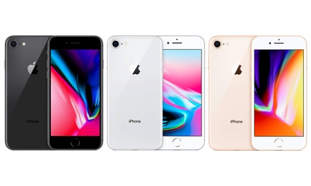 Refurbished and Unlocked Apple iPhone 8 64GB - Premium With Free Delivery
