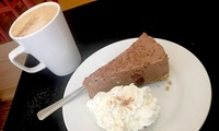 Cheesecake with Hot Drink Each for Two at Simply Cheesecake (Up to 48% Off)