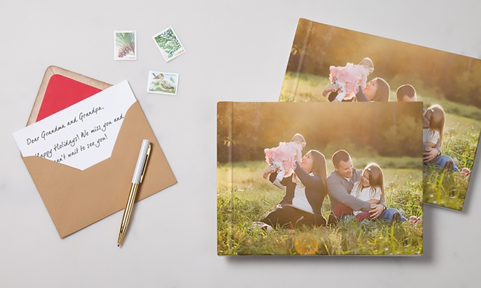 MyPublisher: 20-Page or 30-Page Hardcover Photo Pocket Books from MyPublisher (Up to 75% Off)