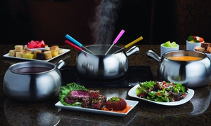 Melting Pot: Two-Course Fondue Dinner for Two or Four at Melting Pot (Up to 45% Off)