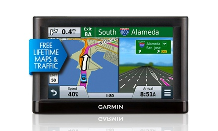 Garmin nüvi 56LMT GPS with Lifetime Maps and Traffic