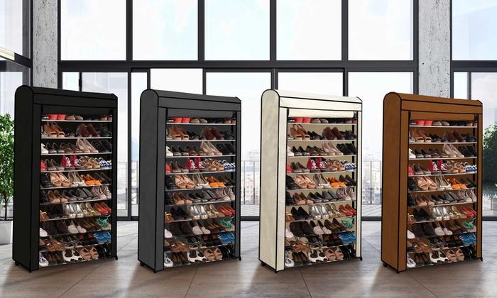 Range Chaussures Eco Pour 30 Ou 50 Paires Avec Housse En Option