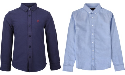 Camisa Oxford Farah Brewer