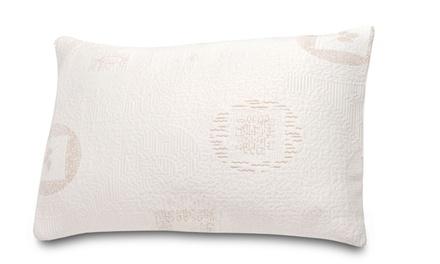 Green-Tea-Infused Memory-Foam Pillow