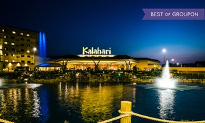 Kalahari Waterpark in the Poconos with Arcade Credit  at Kalahari Resorts & Conventions, plus 9.0% Cash Back from Ebates.