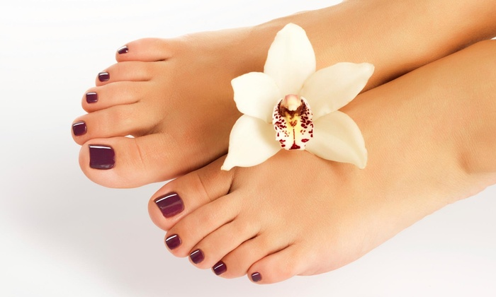 Nails By Kesha - Located inside Cutt'n Loose at Sandy's: $39 for $78 Worth of Pedicures — Nails By Kesha