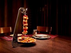 Brasserie «De Met»: Menu de 3 plats avec une Brochette de luxe à partir de 14,99€ à la Brasserie «De Met»