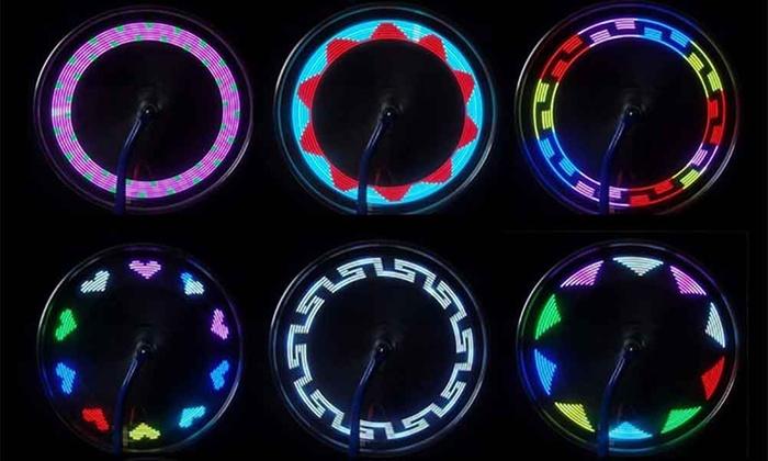 fietswielverlichting met 30 modi fietswielverlichting
