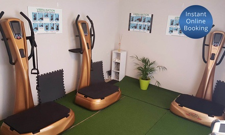 for Vibration Training Sessions and AntiCellulite Massage at VibraNation, Scarborough Value