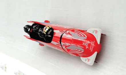 Bobsleigh or Skeleton Experience at Whistler Sliding Centre (Up to 27% Off)