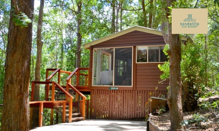 Sunshine Coast, Montville: 2- to 5-Night Treehouse Stay for Two People with Dinner and Wine at Kondalilla Eco Resort