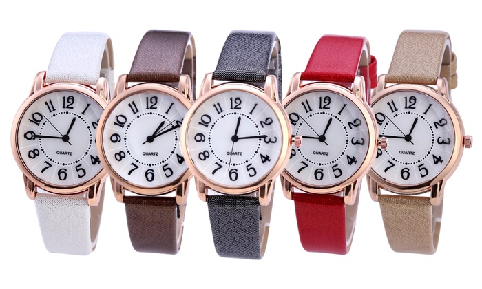 One or Two Women's Sparkle Watches
