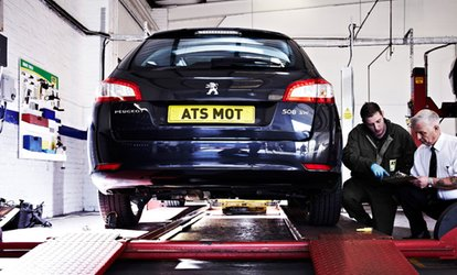 image for MOT Test at ATS Euromaster, Multiple Locations (33% Off)