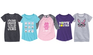 Girls Fun and Cute Easter Tops
