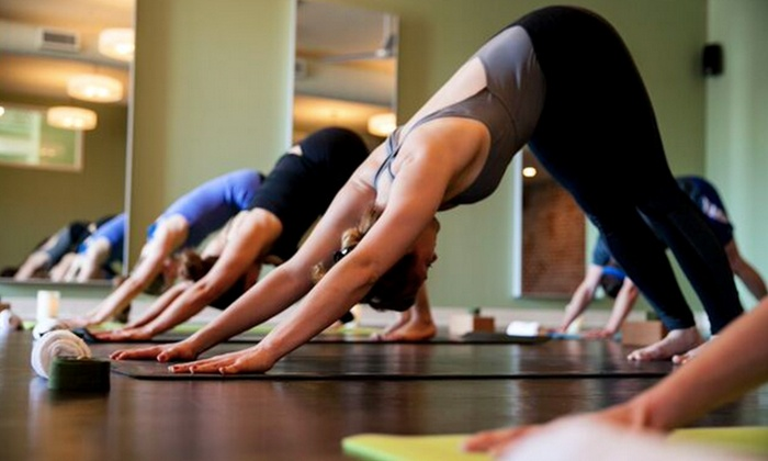 Highland Yoga - Multiple Locations: One Month of Unlimited Yoga Classes or 10 Classes at Highland Yoga (Up to 68% Off)