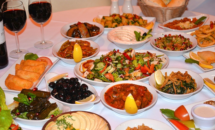 Eleven-Course Lebanese Tasting Menu For Two from £19 at Yamal Alsham, Chelsea (Up to 74% Off)