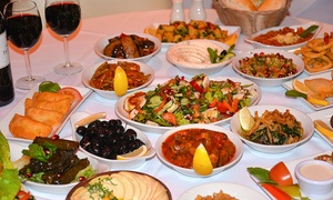 Yamal Alsham (Chelsea): Eleven-Course Lebanese Tasting Menu For Two from £19 at Yamal Alsham, Chelsea (Up to 74% Off)